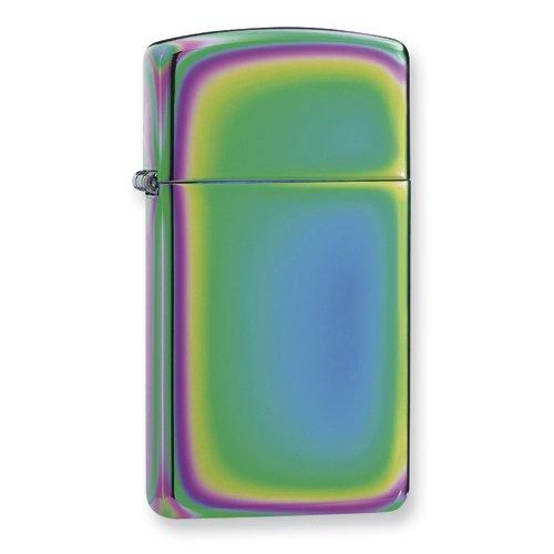 Zippo Spectrum Slim Zippo Lighter - Engravable Personalized Gift Item