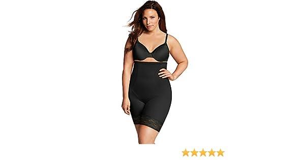 4b12096817367 Maidenform Firm Foundations Curvy Hi Waist Thigh Slimmer at Amazon Women s  Clothing store
