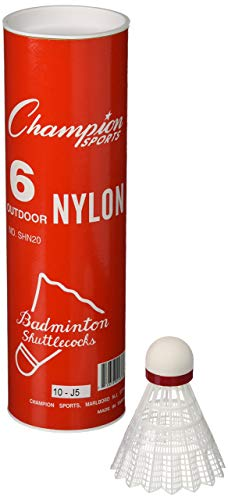 Champion Sports Nylon Outdoor Shuttlecocks (Renewed)