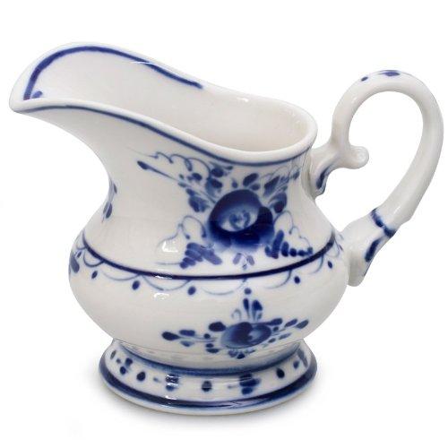 Gzhel Porcelain Cream Jug (Blue Cream Jug)