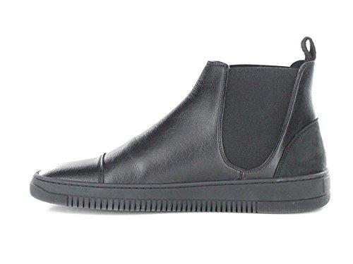 Novacas Mens Marco Chelsea Vegan Boot in Black eSKzb7piX