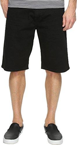 569 Loose Straight Jean Shorts (Levi's Mens Men's 569 Loose Straight Short Black/Black 3D Shorts)