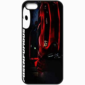 Personalized iPhone 5 5S Cell phone Case/Cover Skin Movie 2013 fast furious 6 movie full widescreen Black