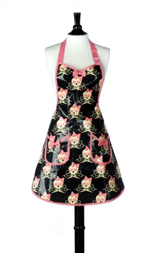 Jessie Steele Bib Audrey Lucie Eva Coated Apron (Jessie Steele Salon Apron compare prices)