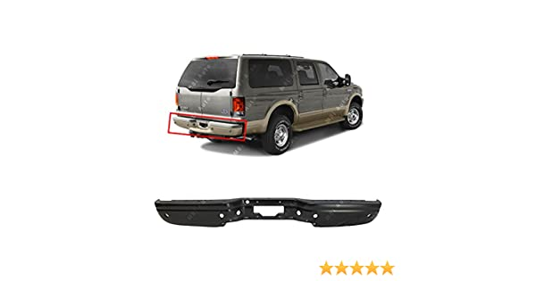 Step Bumper Compatible with 2000-2005 Ford Excursion Assembly Chrome Steel