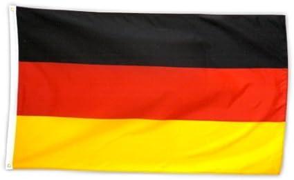 2x Deutschlandfahne mit Adler Deutschlandflagge Hissfahne Fahnen Flaggen 150x90