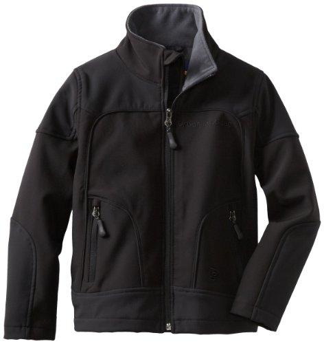 Urban Republic Little Boys' Little Boy 2177KB Soft Shell Jacket, Black, 7