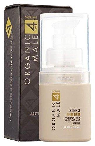 Organic Male OM4 Normal STEP 3: Age-Defying Antioxidant Serum - 1 oz