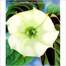 georgia okeeffe 100 flowers postcard book
