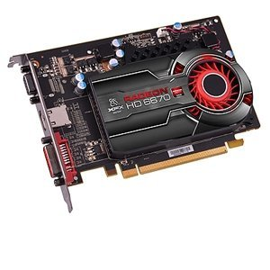 XFX ATI Radeon HD6670 1 GB DDR5 VGA/DVI/HDMI PCI-Express ...