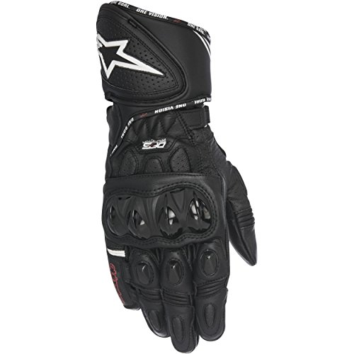 - Alpinestars GP Plus R Leather Street Motorcycle Gloves Black Mens Size M