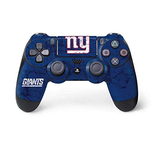 NFL New York Giants Distressed Skin for Sony PlayStation 4/ PS4 Dual Shock4 Controller