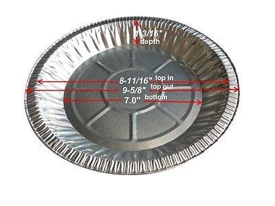10 aluminum pie pans - 8