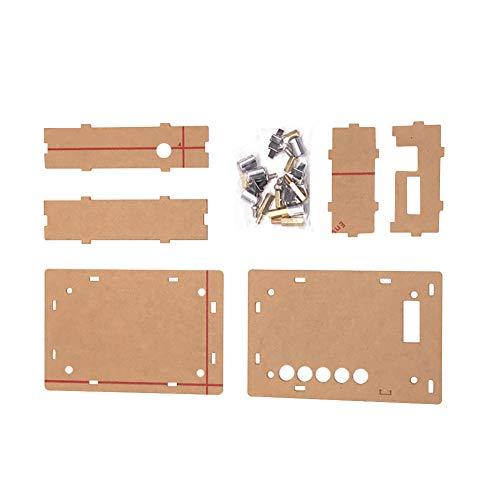 hicollie TDA7492P 2x50W Bluetooth 4.0 Audio Receiver Digital Amplifier Board Acrylic Case