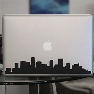 Denver skyline decal colorado vinyl sticker for Vinyl windows denver