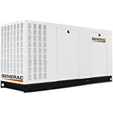 130 Kw Liquid-Cooled 542 Amp Natural Gas Standby Generator with CSA, SCAQMD, and EPA Compliance in Aluminum Enclosure