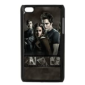 Popular And Durable Designed TPU Case with Twilight For iPod Touch 4 Cell Phone Case Black