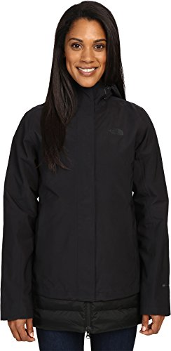 Fill Jacket Coat (The North Face Women's Ivy Hill Down Triclimate Jacket TNF Black (Prior Season) Large)