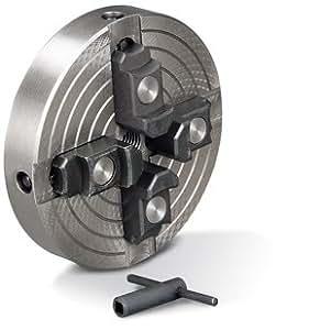Holzstar M33 - Plato de torno con 4 garras (150 mm de tensión independiente)