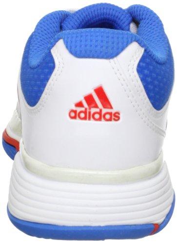 Tennis Barricade ADIDAS White adiPower Shoes Ladies Orange Blue UK4 tRqwPqgnS