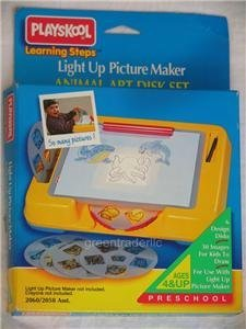 - Light up Picture Maker Animal Disk Set