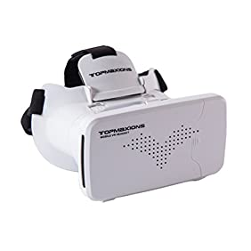 3D VR Glasses,Topmaxions™ 3D Virtual Reality Mobile Phone 3D Movies for Apple Phone 6s/6 plus/6/5s/5c/5 Samsung s5/s6/note4/note5 and Other 3.5