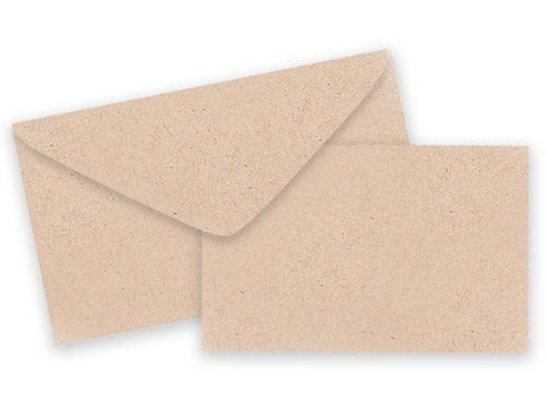 [해외]Pack of 25 Sets Plain Kraft Card Envelopes 선물 인클로저 카드 재활용품 Made made USA/Pack of 25 Sets Plain Kraft Card   Envelopes Gift Enclosure Cards Recycled Made USA