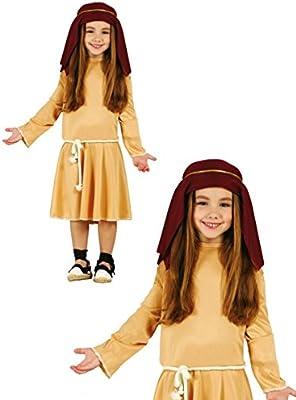 Disfraz de pastorcita infantil 5-6 años: Amazon.es: Ropa y accesorios