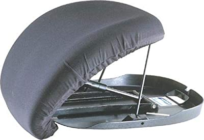 Carex Uplift Premium Seat Assist Plus with Memory Foam - Chair Lift and Sofa Stand Assist