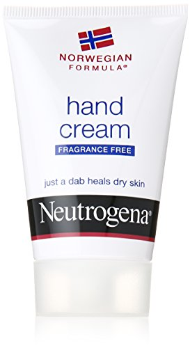 Neutrogena Norwegian Formula Moisturizing Hand Cream Formulated with Glycerin for Dry, Rough Hands, Fragrance-Free Intensive Hand Cream, 2 oz (Pack of 3)