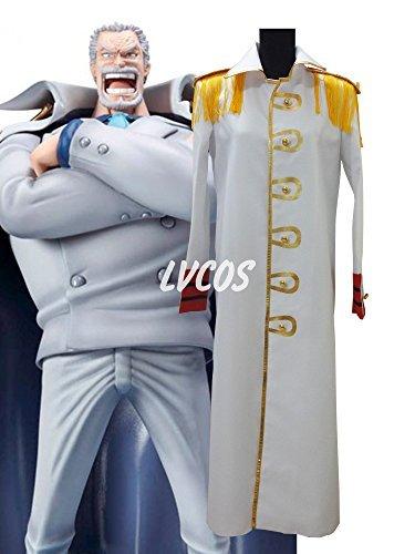 Belphegor Cosplay Costume (One Piece Monkey.D.Garp Cosplay Costume)