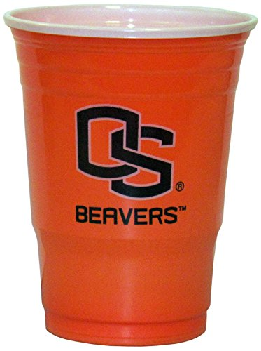 State Beavers Oregon Cooler - Siskiyou NCAA Oregon State Beavers Plastic Game Day Cups 2 Sleeves of 18 (36 Cups)
