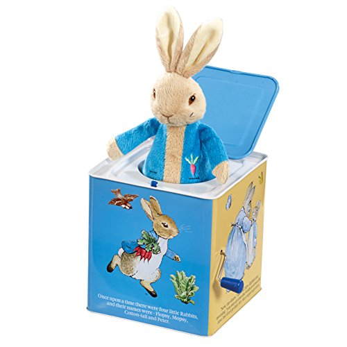 Beatrix Potter Peter Rabbit Jack in the Box Plush