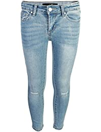 Girls Mid Rise Soft Stretch Denim Jean