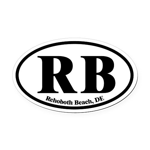 CafePress - Rehoboth Beach.RB.Dutch.white.png Oval Car Magnet - Oval Car Magnet, Euro Oval Magnetic Bumper (Png Car Magnet)