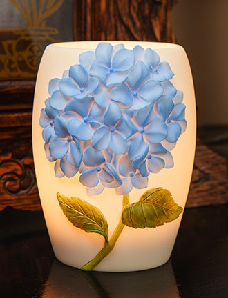 Blue Hydrangea - Night Lamp By Ibis & Orchid Design - Night Lights ...