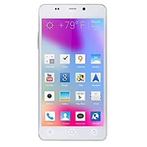 BLU Life Pure Mini L220a 16GB Unlocked GSM HSPA+ Android Phone - White (Certified Refurbished)…