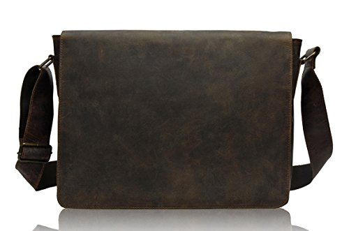 TONY'S BAGS - 15.6 inch Laptop bag Messenger Bag in Vintage Style by Tony bags