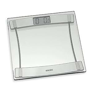 Amazon Com Homedics Glass Digital Bathroom Scale 405 11