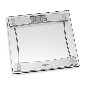 homedics glass digital bathroom scale 405 1125 - Bathroom Scales