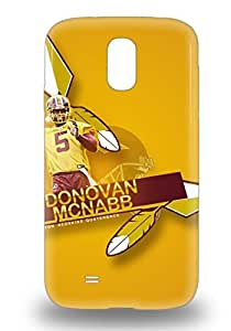 Durable Defender Case For Galaxy S4 Tpu Cover NFL Philadelphia Eagles Donovan Mcnabb #5 ( Custom Picture iPhone 6, iPhone 6 PLUS, iPhone 5, iPhone 5S, iPhone 5C, iPhone 4, iPhone 4S,Galaxy S6,Galaxy S5,Galaxy S4,Galaxy S3,Note 3,iPad Mini-Mini 2,iPad Air )