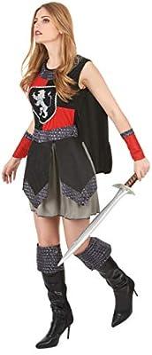 Disfraz caballero medieval mujer - S: Amazon.es: Juguetes y juegos