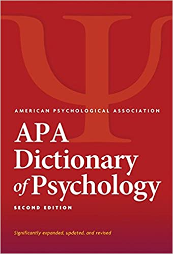 Amazon apa dictionary of psychology 9781433819445 american apa dictionary of psychology 2nd edition fandeluxe Gallery