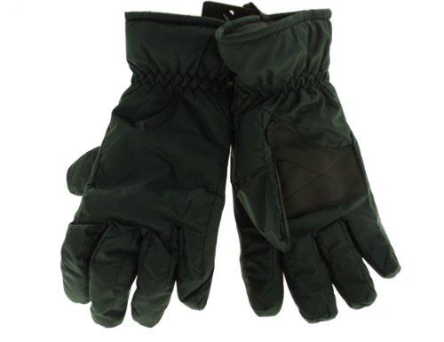 Isotoner Men's Black Ultra Dry Ski Waterproof Gloves-M/L from isotoner