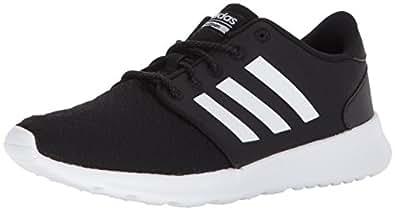 adidas Womens Cloudfoam Qt Racer Black Size: 5