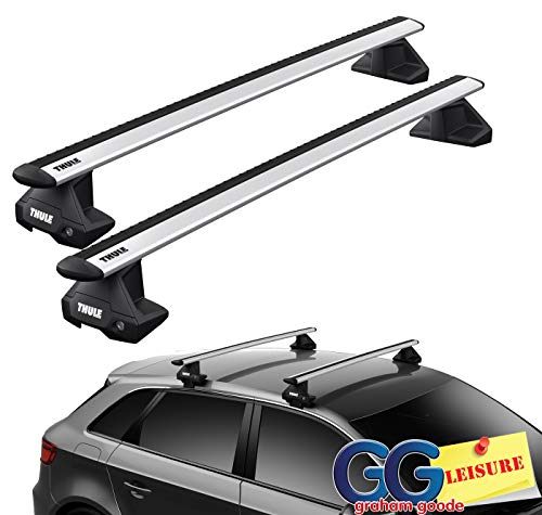 Green Valley Aurilis Original Roof Rack Bars for Peugeot 3008 5008 from 2009 and Citroen C6 from 2005