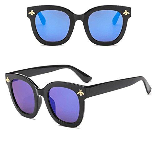 Big Fashion Lunettes C Fathoit Soleil Femmes Homme Girl Eyewear Protection Lunettes Bees De Vintage Soleil UV Frame Rétro YC Lennon De Retro 400 Dream ASAxvT6