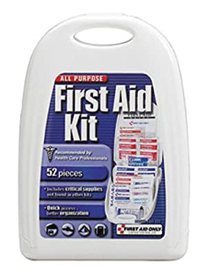 First Aid Only FAO-122 Small All Purpose First Aid Kit - 52 Piece from First Aid Only