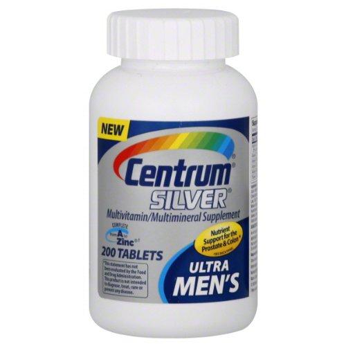 Centrum Silver Men 50+, 200-Count Bottle