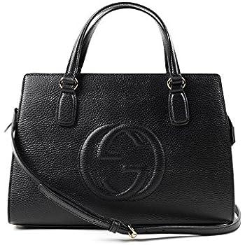 52b7a986bc7f38 Amazon.com: Gucci Women's Leather Micro GG Guccissima Convertible ...